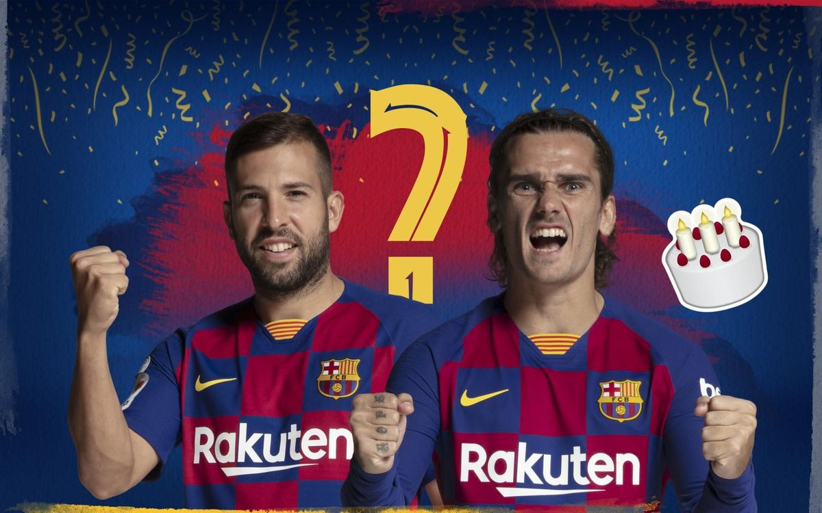 Jordi Alba or Griezmann: Who are we talking about?