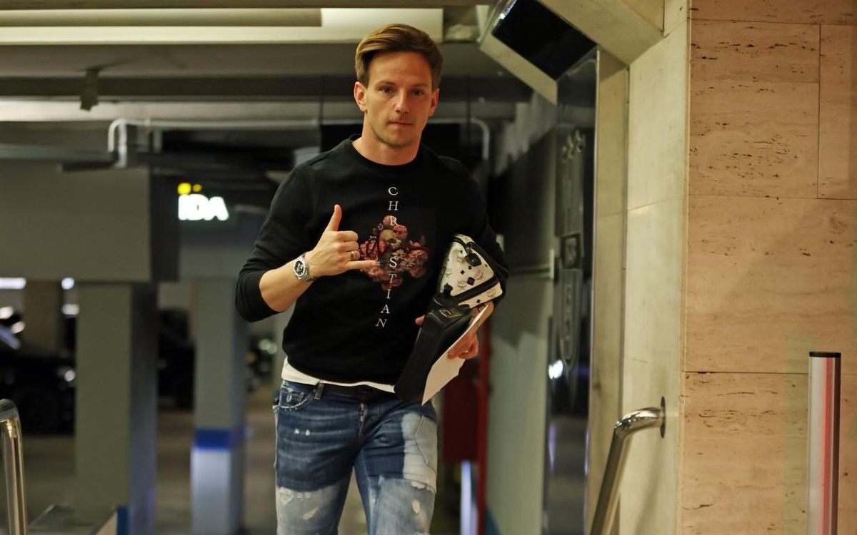 Rakitic: 'Confinement is better dealt with, with a smile'