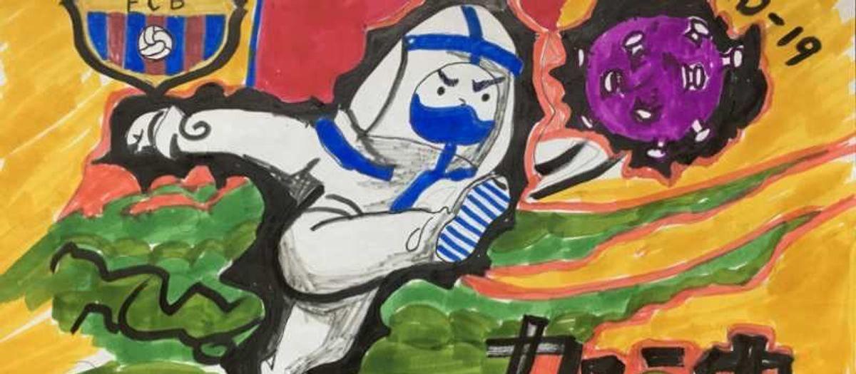 Dibujos que animan a luchar contra el COVID-19