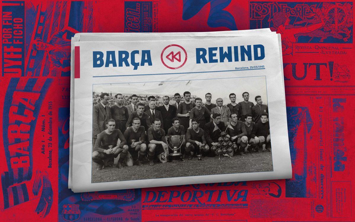 Barça Rewind: 75 years since 5-0 against Madrid