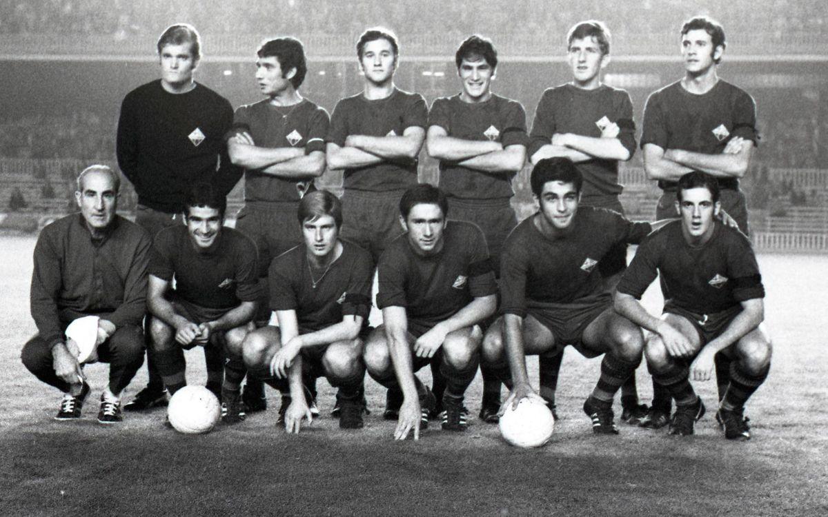 Un reconeixement als pioners del Barça Atlètic