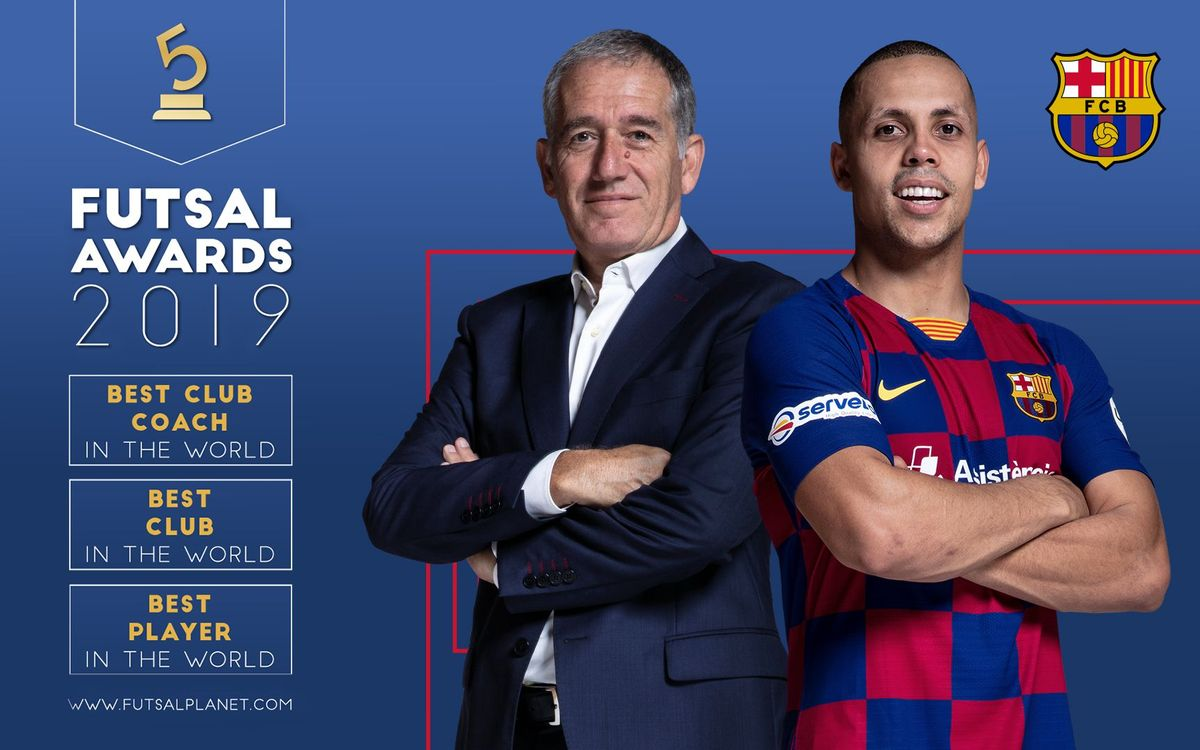 Ferrao, Plaza and Barça, the best in the world in 2019