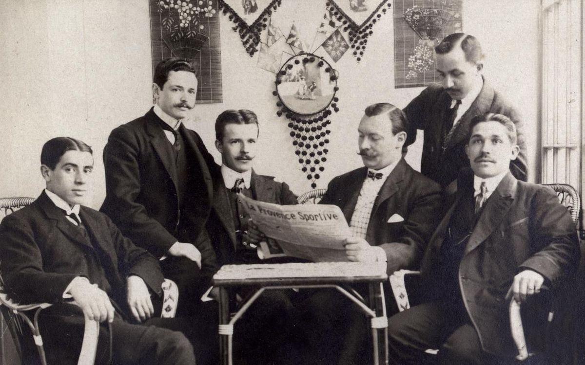 La directiva del FC Barcelona al 1908-09 (ARXIU)