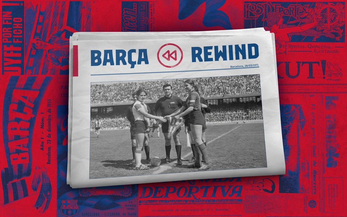 49 years since first women's football final in Catalonia