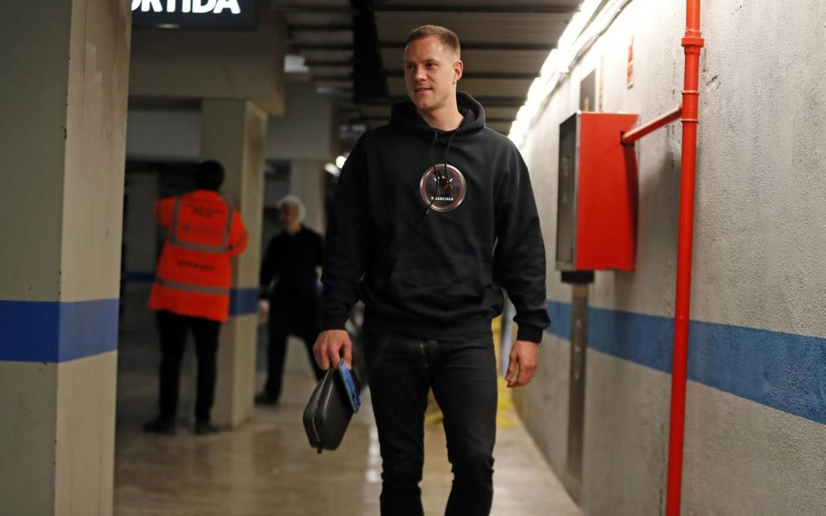 Ter Stegen: 'I'm fine and enjoying the time with my son'
