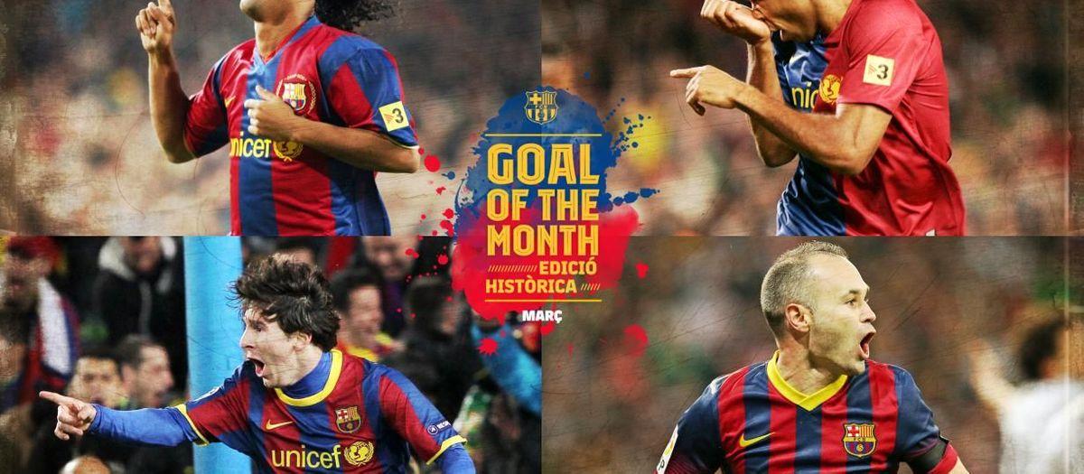 Quin ha estat el millor gol històric del mes de març?
