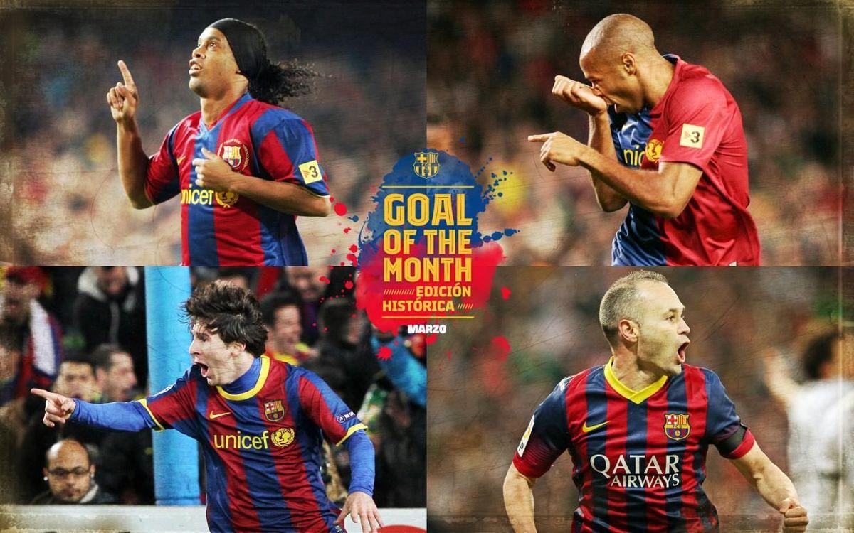 ¿Qué gol histórico del mes de marzo te gusta más?