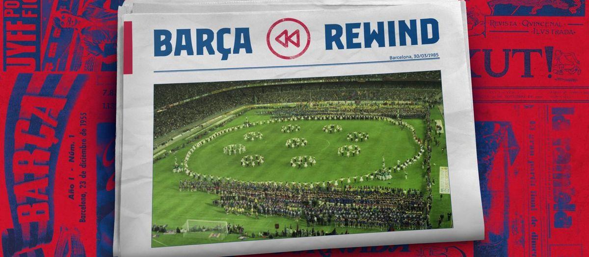 35 anys de la celebració de la Lliga 1984/85 amb una foto històrica
