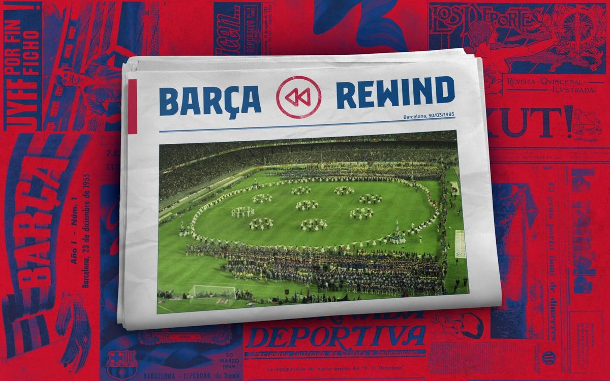 Barça Rewind: A historic photo
