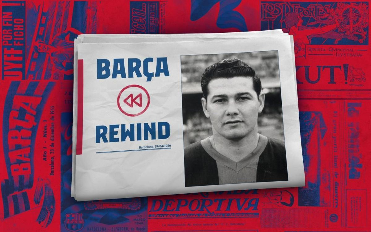 Barça Rewind: Eulogio Martínez makes his debut