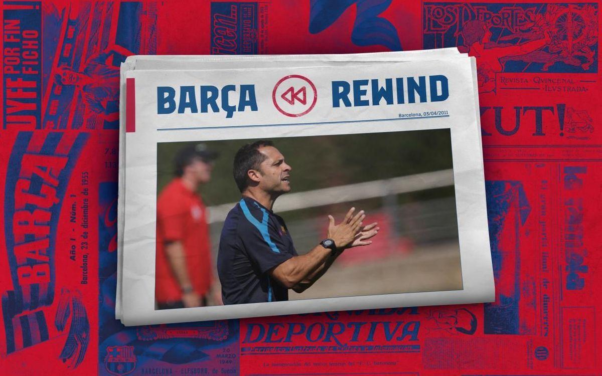 Barça Rewind: Sergi Barjuan's great sporting lesson
