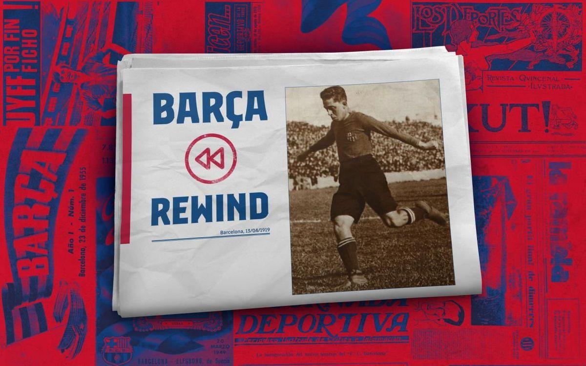 Barça Rewind: The Police goal