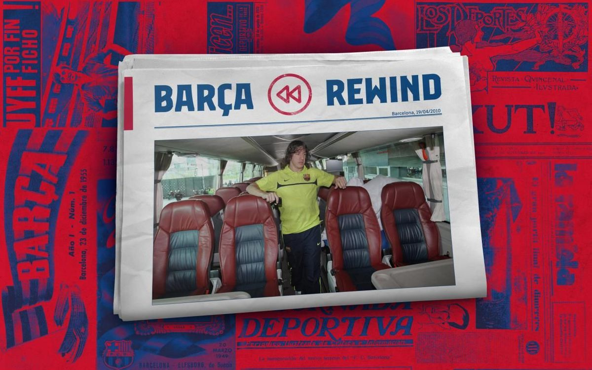 Barça Rewind: The ash cloud