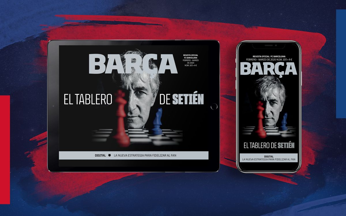 El número 103 de la REVISTA BARÇA, ya disponible en formato multimedia