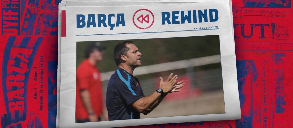 El respecte pels valors del Juvenil B de Sergi Barjuan de la temporada 2010/11