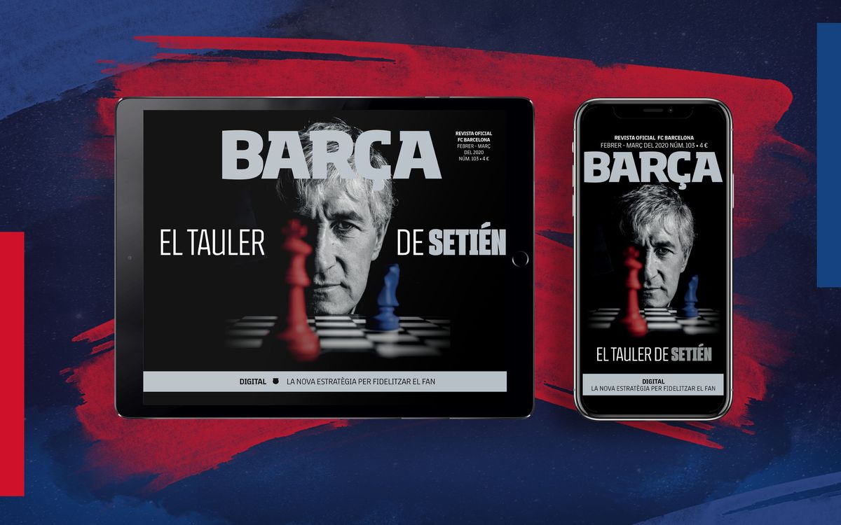 El número 103 de la REVISTA BARÇA, ja disponible en format multimèdia
