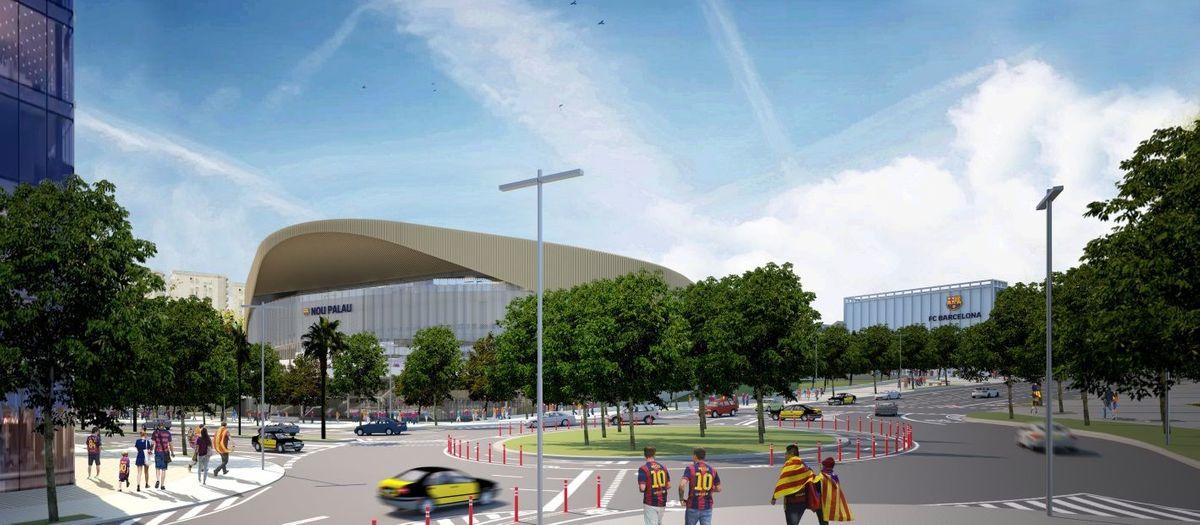 Sostenibilidad: nuevo Palau Blaugrana