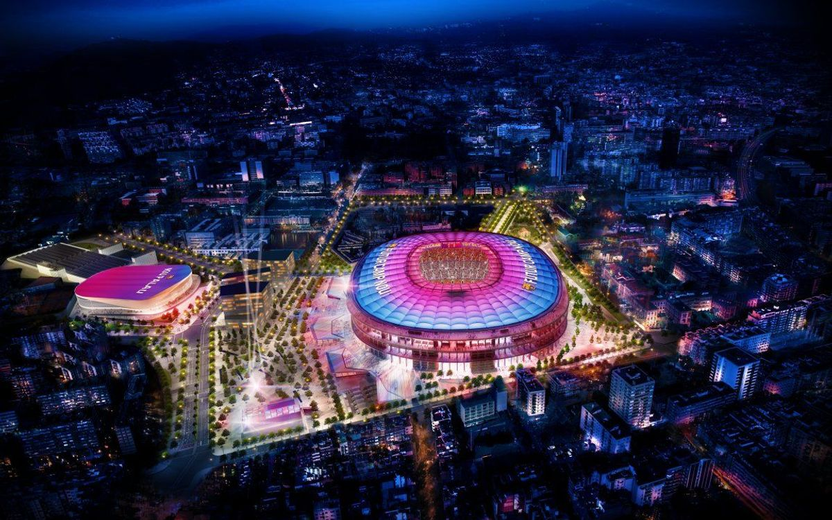 FC Barcelona gets a unique financing model for Espai Barça based on incremental revenue generated by the Camp Nou over 25 years