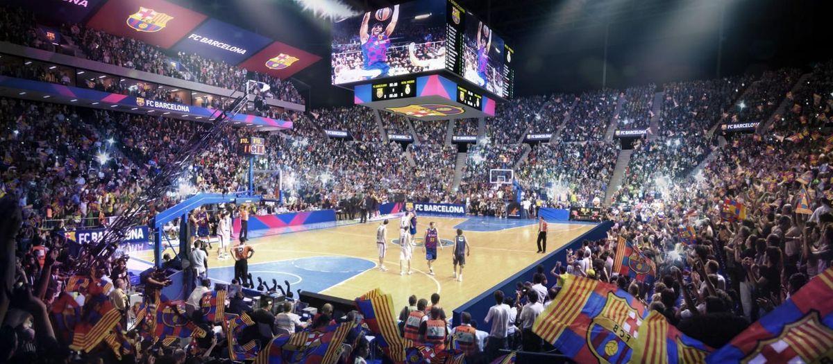 Un pavellón multifuncional para 15.000 espectadores