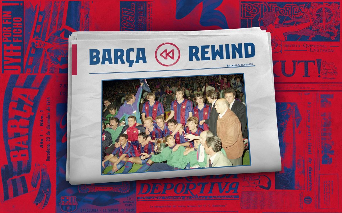 30 years since the Copa del Rey win that started the glorious Dream Team era