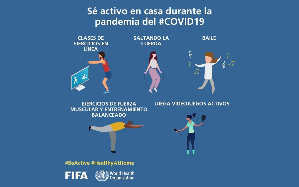 #BeActive, la campagne de l'UEFA