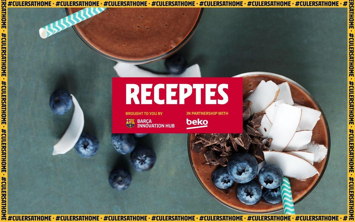 La recepta preferida de Gerard Piqué: 'Smoothie' de plàtan i dàtil