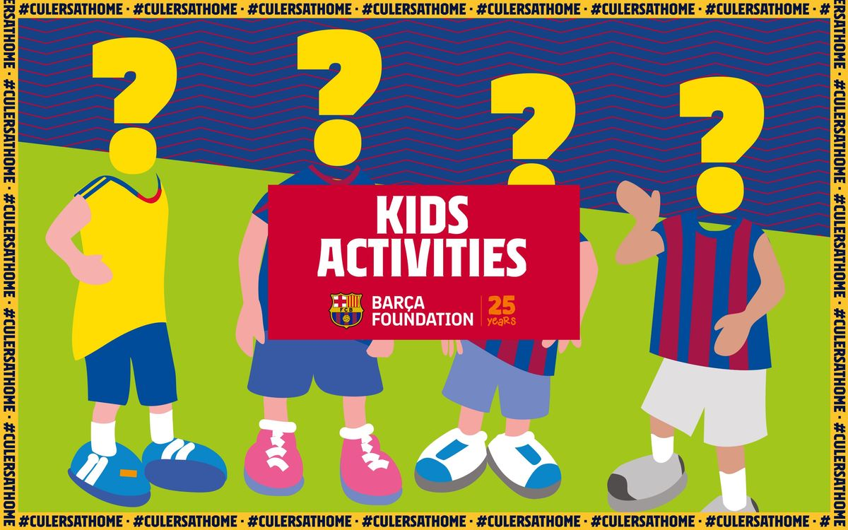 Kids Activities: Who is who?