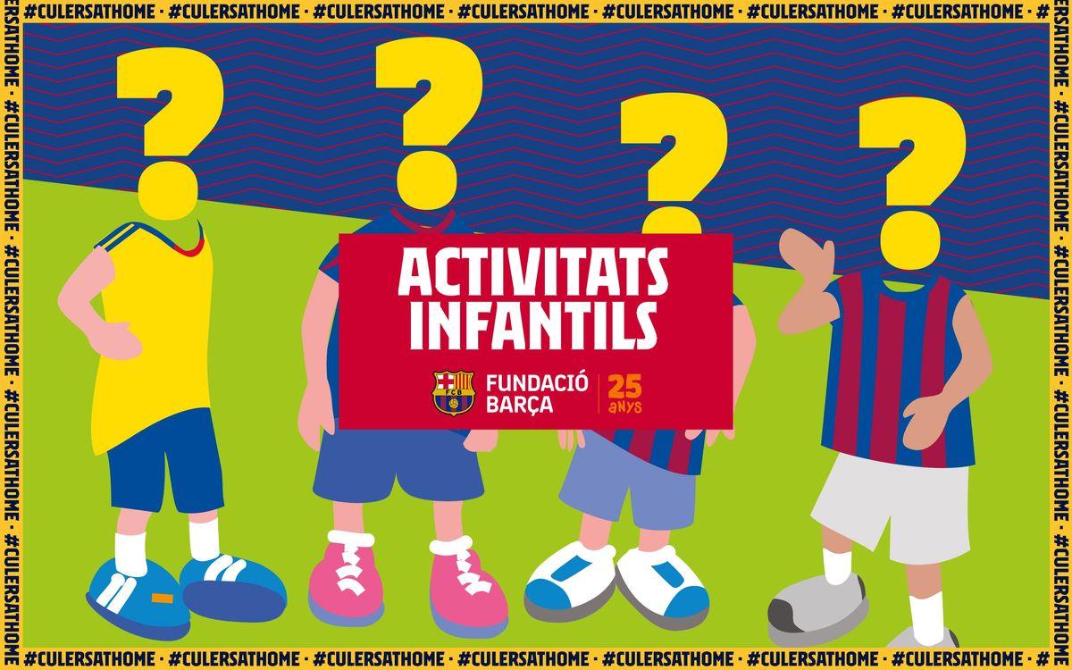 Activitats per a nens i nenes: Qui és qui?