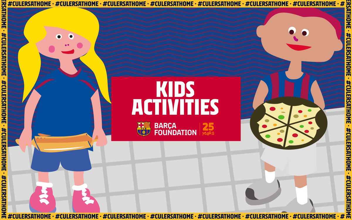 Kids Activities: Pizza Barça