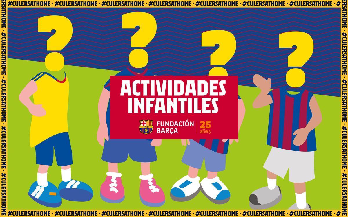 Actividades para niños y niñas: ¿Quién es quién?