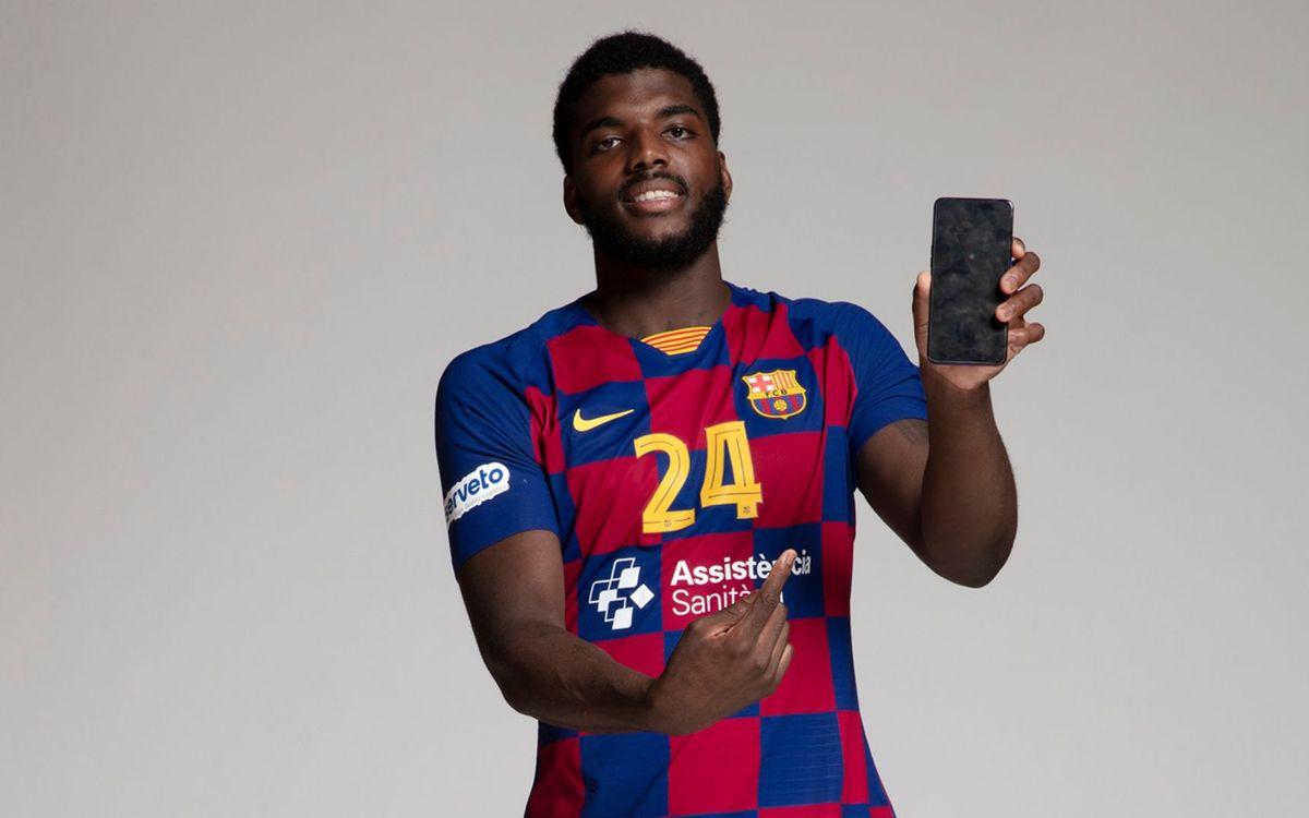 Dika Mem répond aux questions des fans du Barça Handbol