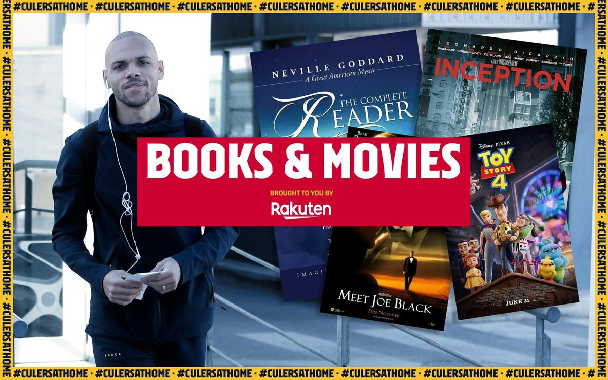 Braithwaite's recommendation: 'Inception', 'Meet Joe Black', 'Toy Story 4' and 'The complete reader'