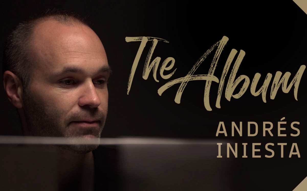 'The album', d'Andrés Iniesta