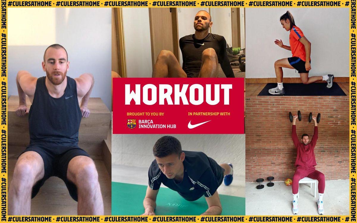 Entrenamiento 'full body': Lumbares + Tríceps + Cuádriceps