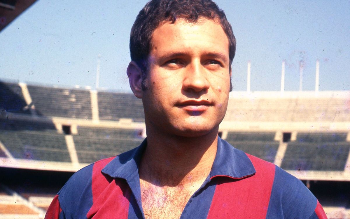 Josep Palau va jugar al primer equip del Barça la temporada 1968/69. Horacio Seguí