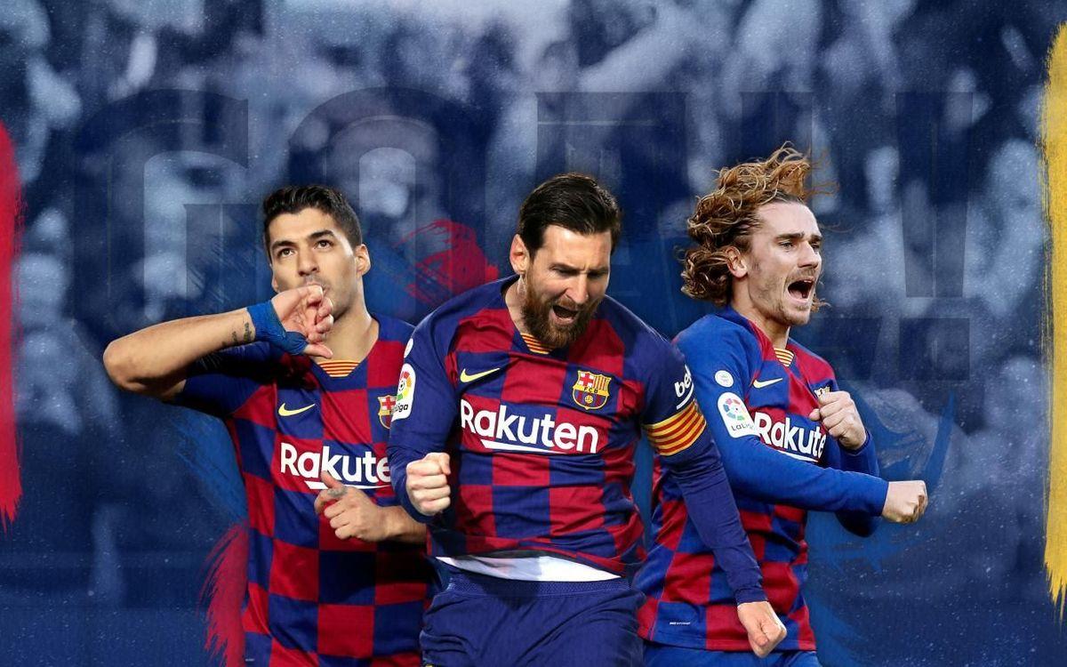 Messi, Suárez y Griezmann, entre los máximos goleadores de la década