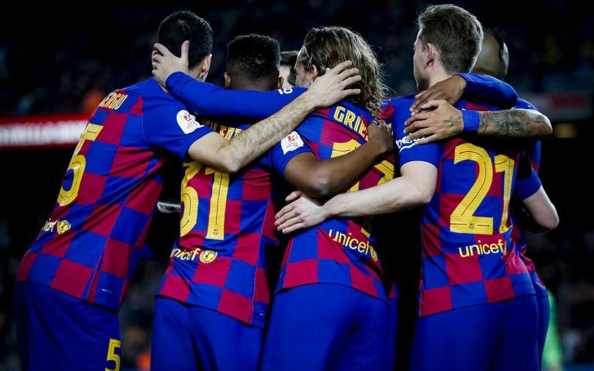 Alors qu'il reste 11 journées de Liga, le Barça est leader avec 2 points d'avance sur le Real Madrid