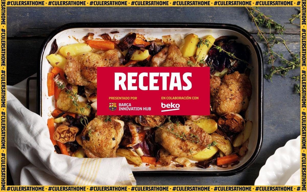 La receta favorita de Leo Messi: Pollo al horno con verduras