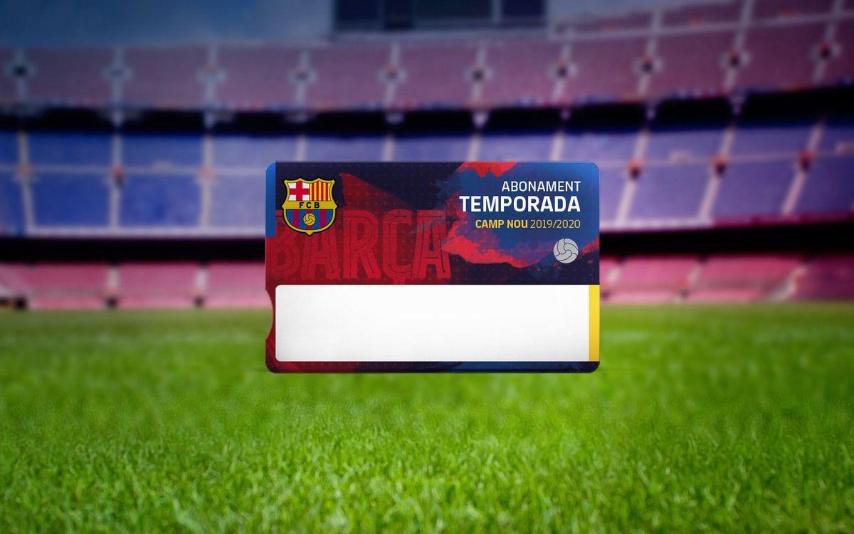 Nueva numeración en la lista de espera de abonos del Camp Nou