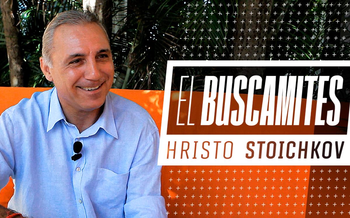 El Buscamites: Hristo Stoichkov