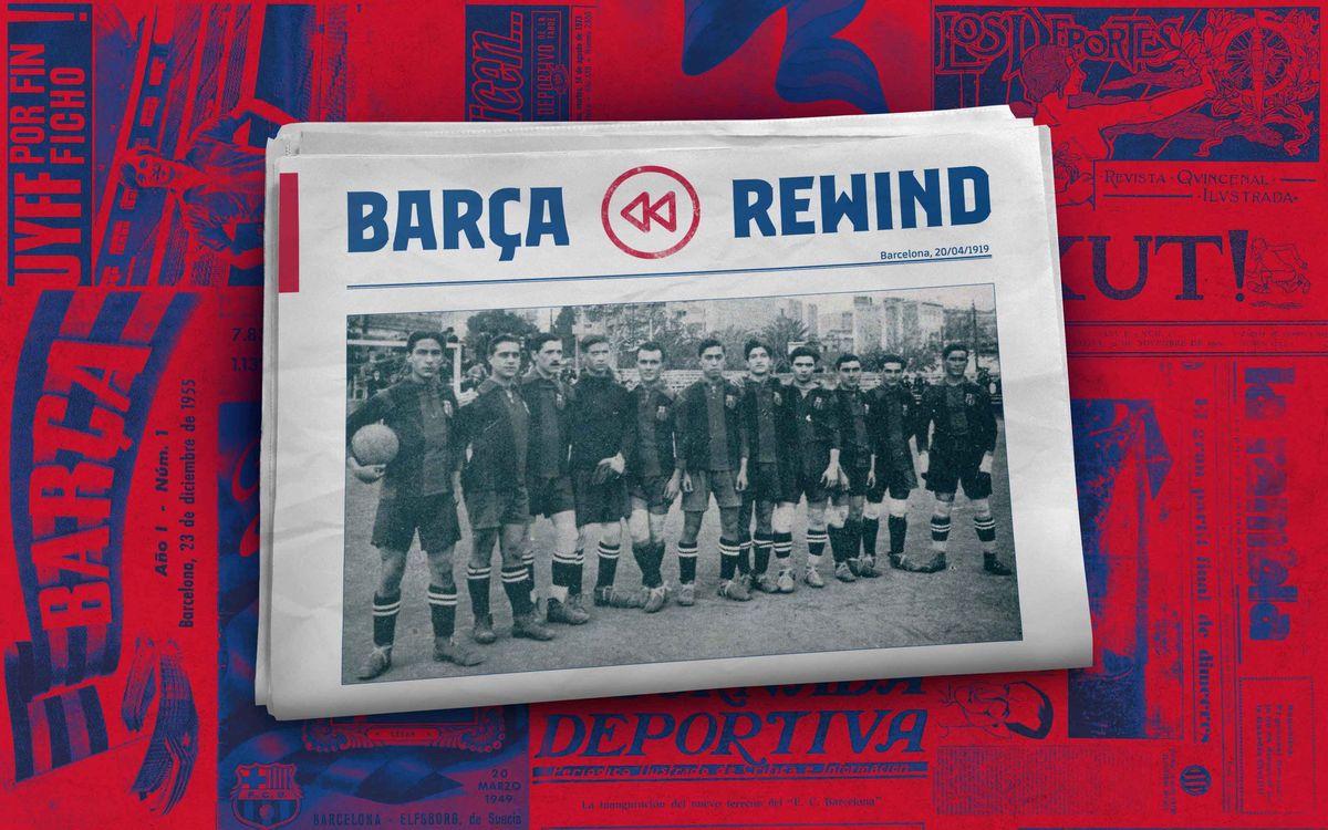 ¿El fútbol se descubrió hace 101 años?