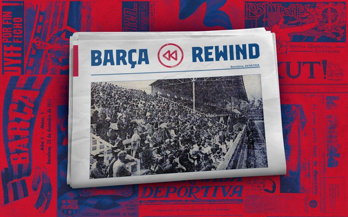 El Barça se acuerda de los más pequeños