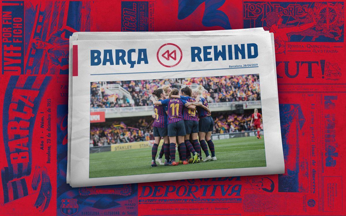 Barça Rewind: Un año del último apoteosis en el Mini