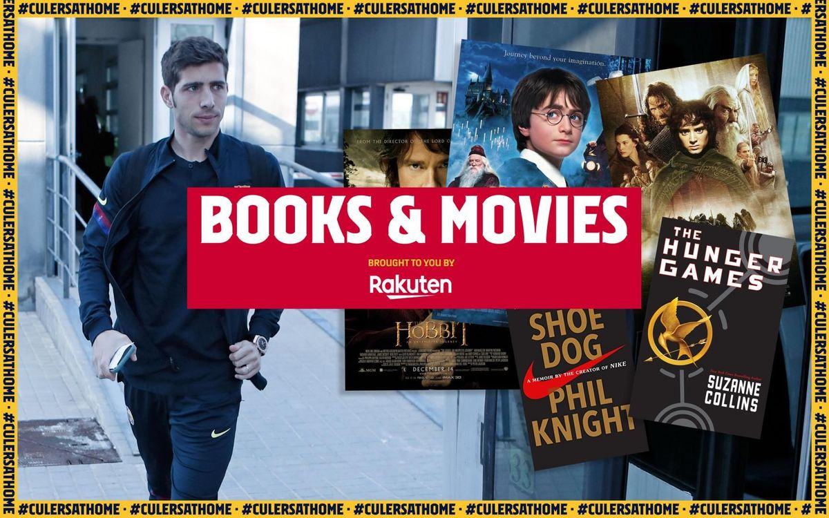 Sergi Roberto recommends: 'The Hunger Games', 'Shoe Dog', the 'Harry Potter' saga, 'The Hobbit' and 'The Lord of the Rings'