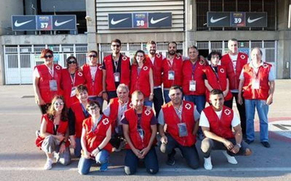 El Barça i la Creu Roja col·laboren per donar suport domiciliari als socis d'edat avançada amb necessitats urgents