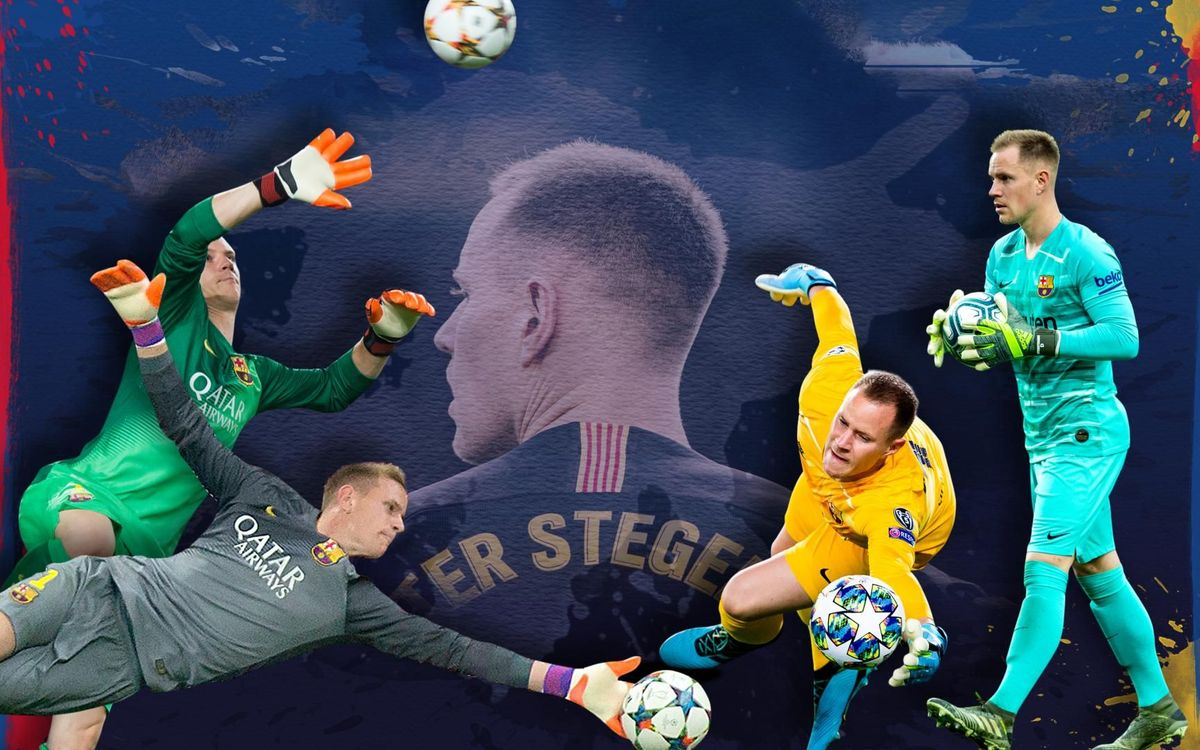 4 moments that define Ter Stegen