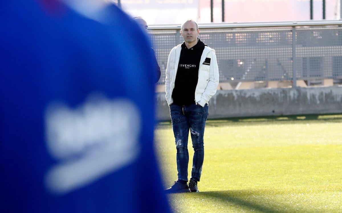 アンドレス・イニエスタ「僕の最高の瞬間は、バルサでのデビューだった」