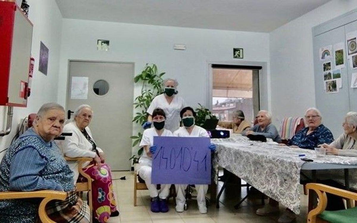 La Penya Blaugrana de Monells lidera la solidaridad de toda una población