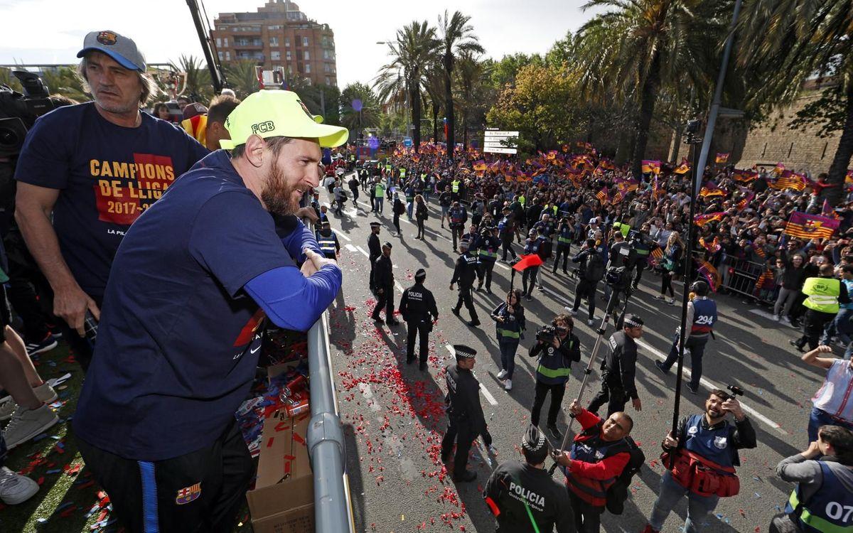 2冠パレードから2年