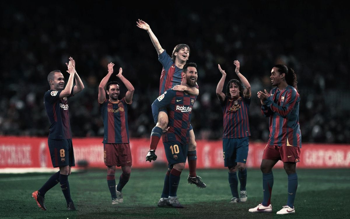 15 years since Lionel Messi's first official goal